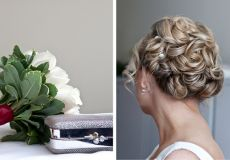 Vjenčana frizura s ukrasima za kosu