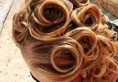 Slatki kolutići u kosi