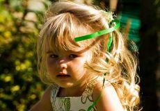 Slatka dječja frizura za još slađu djevojčicu