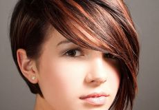 Kratka mladenačka frizura s pramenovima