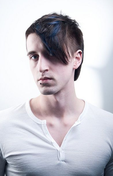 Muška frizura s pramenovima
