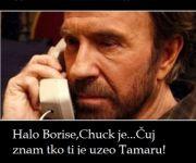 Chuck Norris zna tko je Borisu uzeo Tamaru