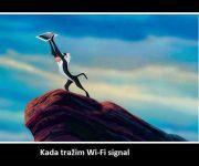 Traženje WIFI signala