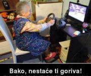 Kada baka zaigra igricu