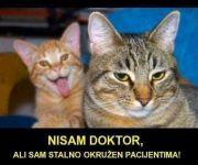 Nisam doktor, ali sam okružen pacijentima