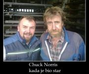Chuck Norris kada je bio star