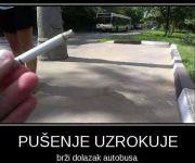 Što uzrokuje pušenje?