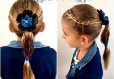 Slatka frizura za djevojčice