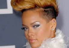 Rihannina divlja frizura
