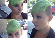 Zeleni undercut