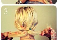 Boho frizura