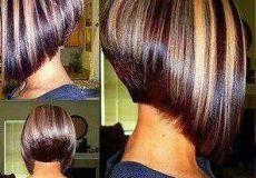 Oštra bob frizura