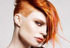 Narančasti undercut