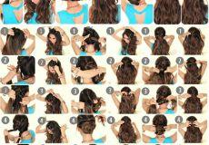 6 lijenih frizura