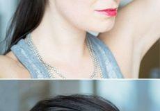 Natapirajte kosu četkicom