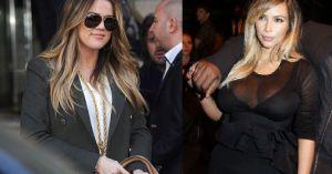Ombre Kim i Khloe Kardashian