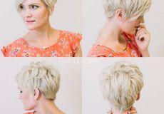 Razbarušena pixie frizura