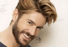 Gusta plava frizura