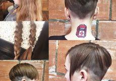 Moderna undercut frizura