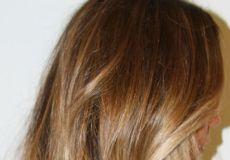Nježna ombre frizura