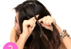 Pletenica i valovita kosa