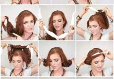Traka i frizura