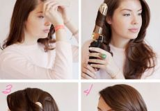 Valovita frizura na stranu