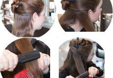 Ravna kosa u nekoliko minuta