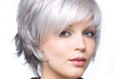 Sijeda kratka frizura