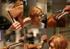 Kratka valovita frizura