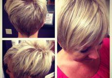 Kratka frizura za tanku kosu