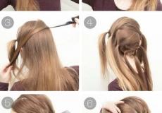 Moderna frizura s daškom prošlosti