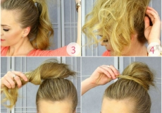 Punđa za tanku kosu