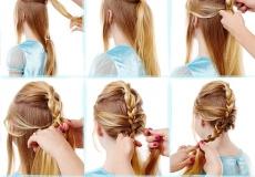 Kako napraviti Elsinu frizuru