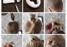 Kako napraviti dječju punđu