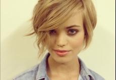 Popularna asimetrična frizura