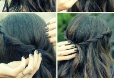 Raspuštena frizura