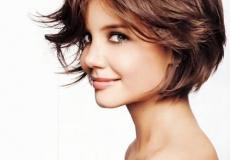 Slojevita kratka frizura