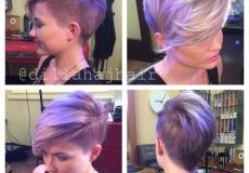 Moderna mladenačka frizura na stranu