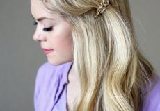 Romantična frizura