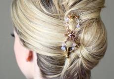 Klasična i glamurozna frizura