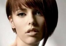 Asimetrična bob frizura