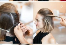 Zabavna podignuta frizura