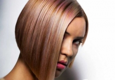 Glamurozna bob frizura