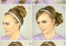 9 načina kako nositi traku za kosu