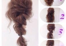 Valovita frizura za izlazak