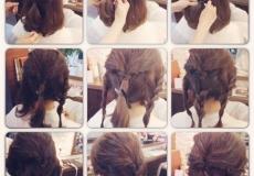 Lijepa podignuta frizura