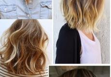 Popularne valovite frizure