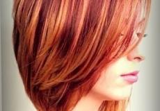 Vatrena bob frizura