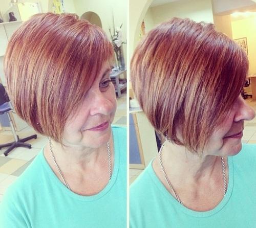 Moderne frizure za starije gospođe